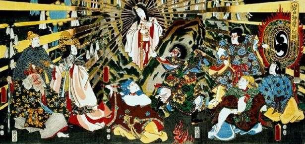 Mythic Yoga Journey™ to Japan: Amaterasu, The Japanese Sun Goddess.